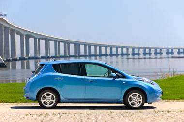 A lack of range in the Nissan Leaf