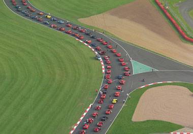 Ferrari parade set to break world record