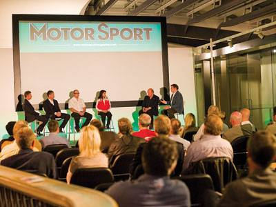 An evening with Le Mans winners