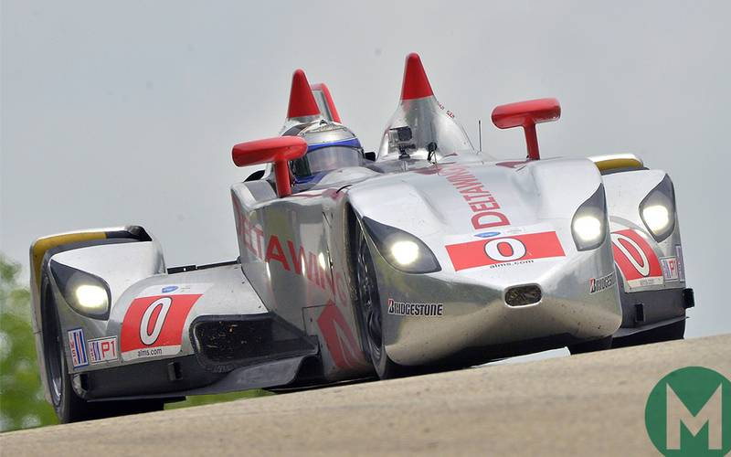 Delta Wing Indycar concept unveiled