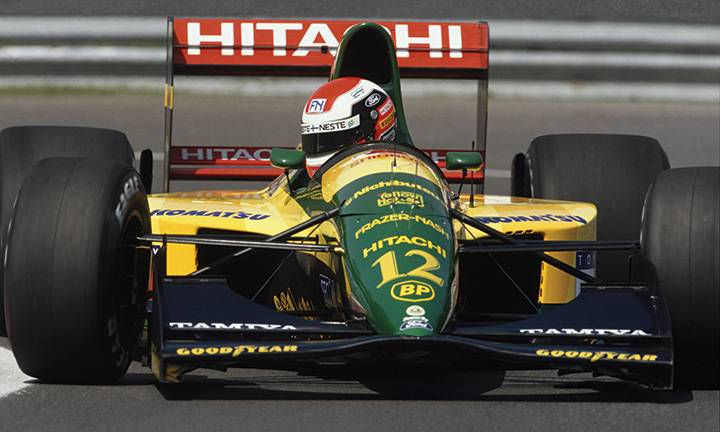 Great racing cars: 1992 Lotus 107