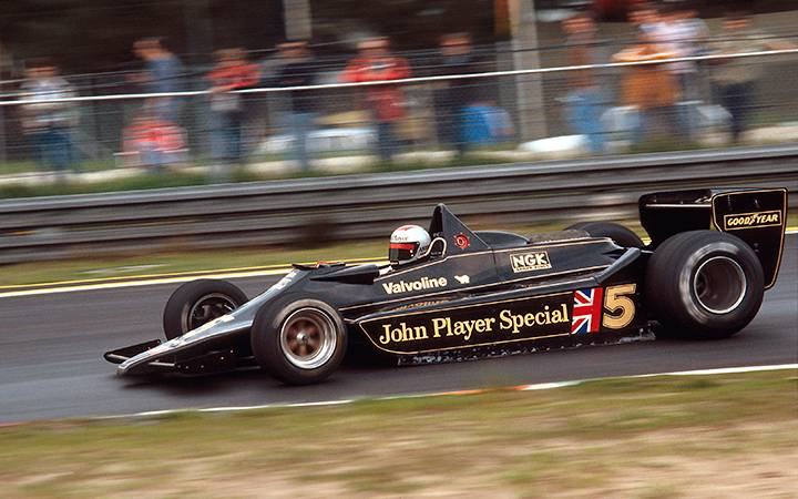 Lotus's ground-effects revolution, part three