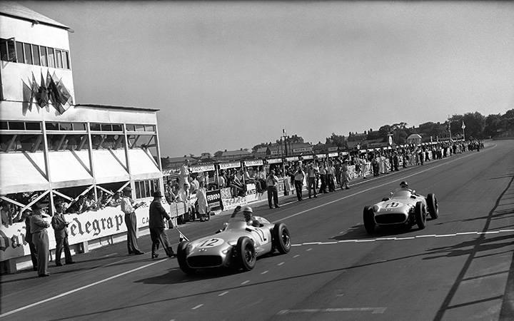 British Grands Prix through the decades