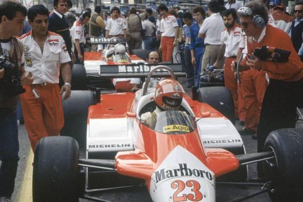 De Cesaris by Giacomelli