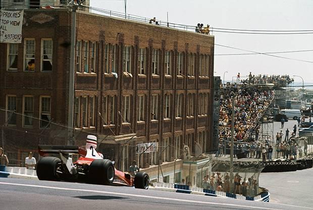 Formula 1's travels through the USA