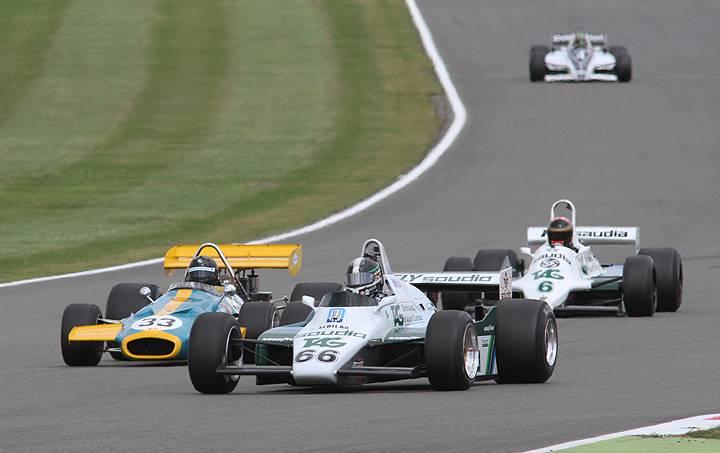 Historic F1 cars support US Grand Prix at Austin