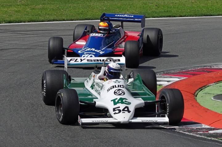 Historic F1 cars star at Monza