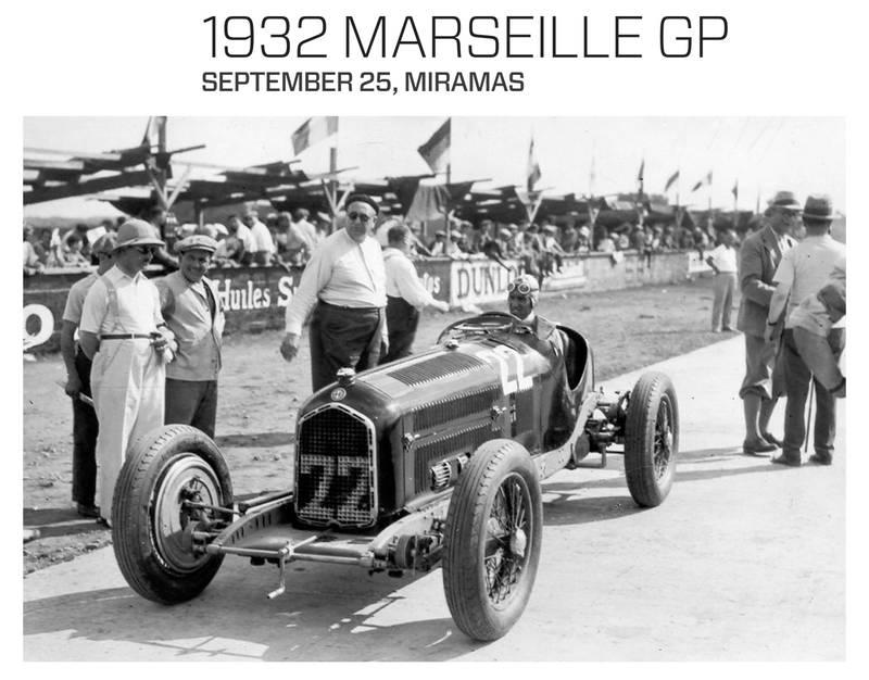 60 –1932 Marseille GP