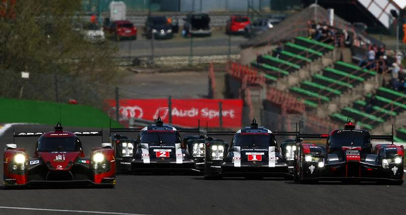 Watch: 6 Hours of Spa highlights