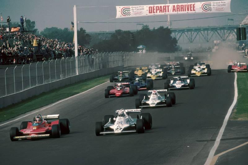 1979 Canadian GP start