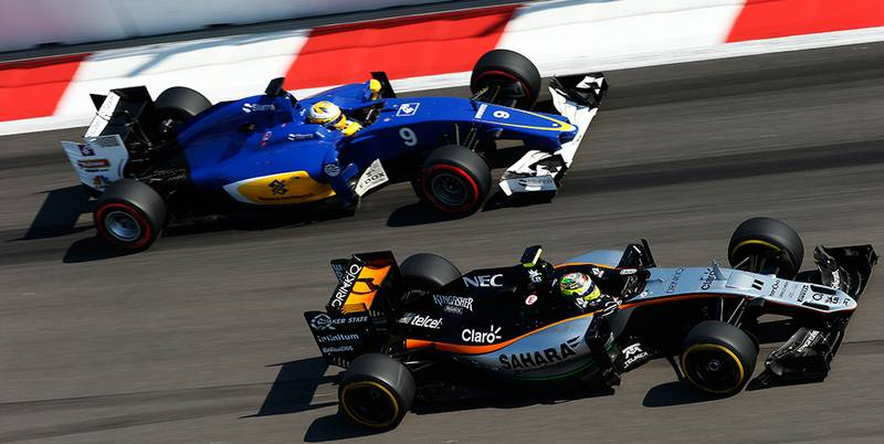 Sauber and Force India's differing fortunes