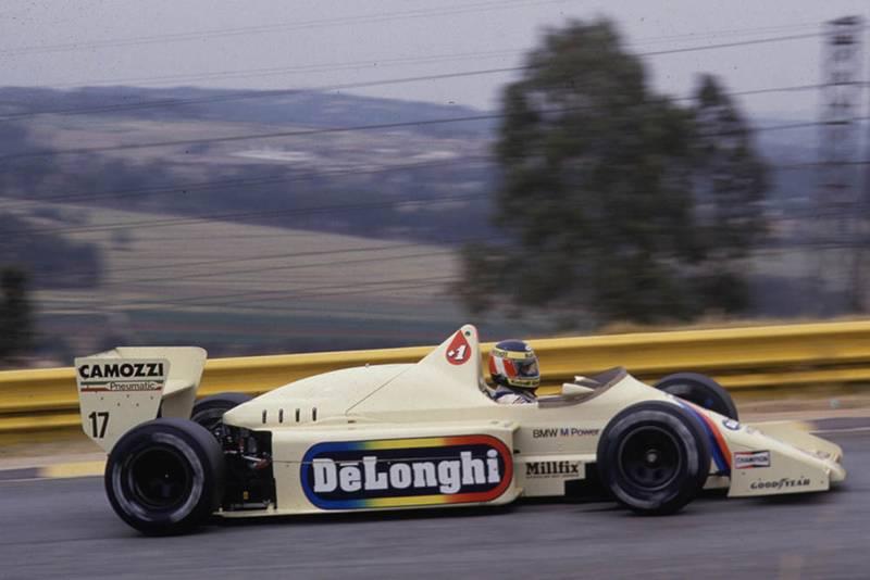 Gerhard Berger in his Arrows BMW.