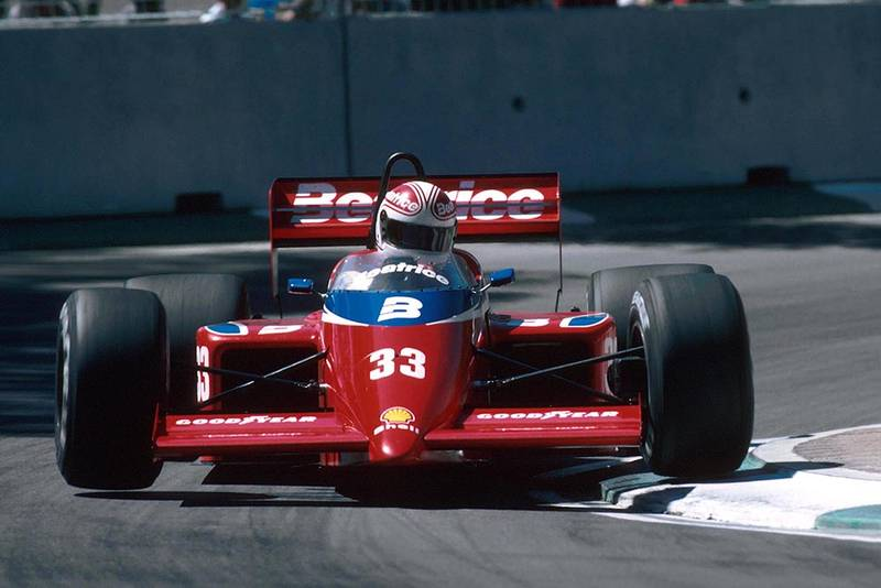 Alan Jones did not finish in the Lola THL1.