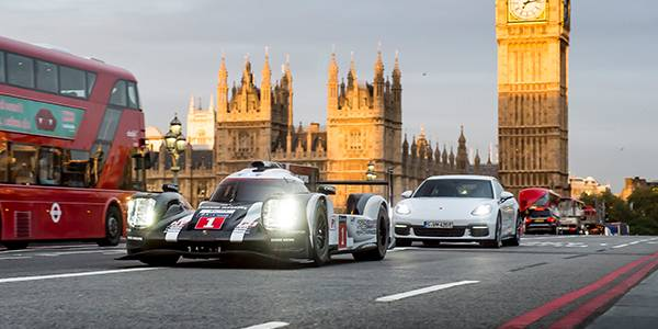 Gallery: Mark Webber's 919 London drive