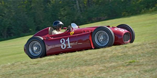 Lancia D50s at Lime Rock