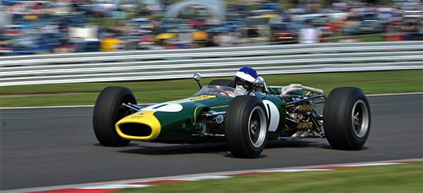 Lotus 43-BRM returns to Oulton Park