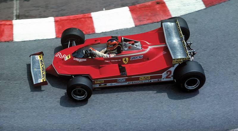 Gilles Villeneuve –Hall of Fame nominee
