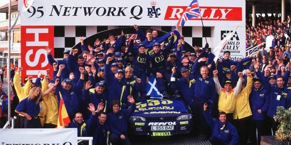 When Colin McRae won the 1995 title