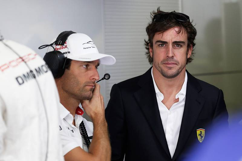 Alonso to Porsche?