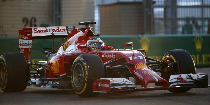 Fernando Alonso, Ferrari, 2014 Abu Dhabi