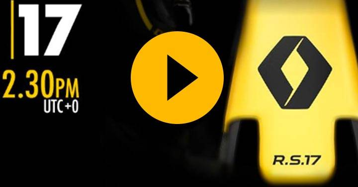 Watch: Renault 2017 F1 launch