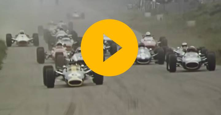Watch: Lotus 49: First time out