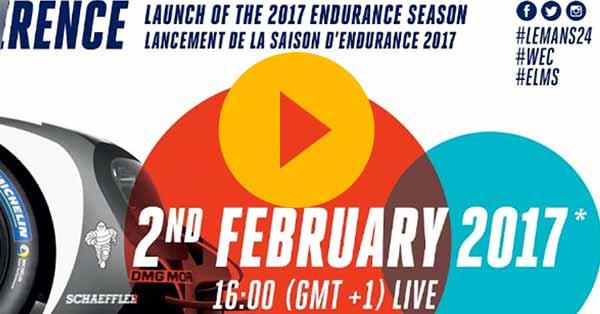 Le Mans, WEC and ELMS live launch