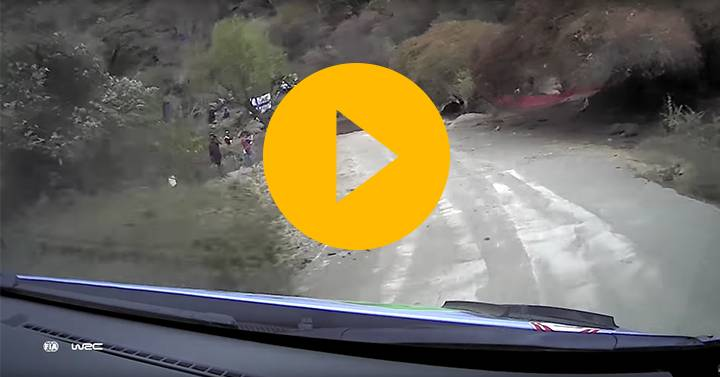 WRC Mexico: Neuville onboard
