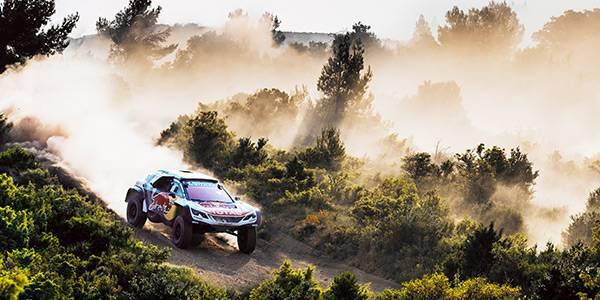 Peugeot launches Dakar challenger