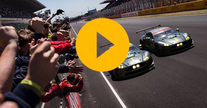 Aston's stunning 24 hours, and Vantage GTE memories