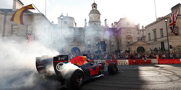 Updated: F1 Live London