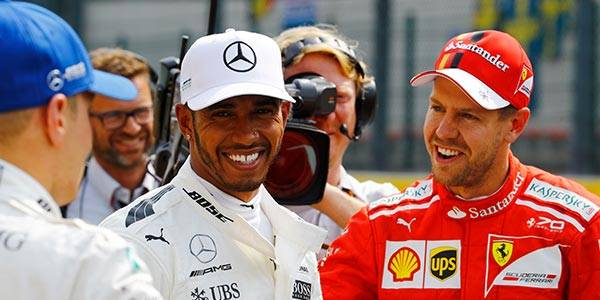 Hamilton v Vettel: Belgian GP qualifying lap analysis