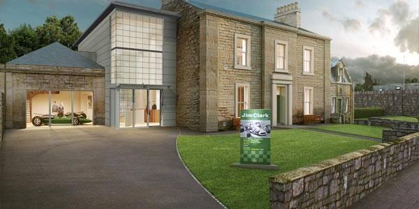 Funding confirmed for Jim Clark museum