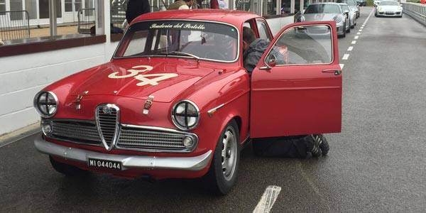 St Mary's Trophy: Big stars in old cars