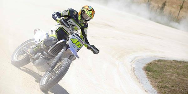 Rossi: when dirt bikes bite