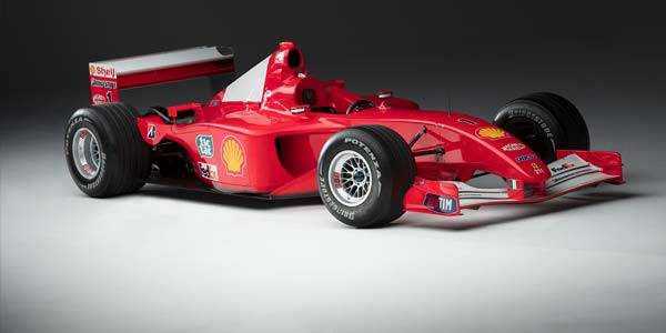Updated: Schumacher F2001 sets new record
