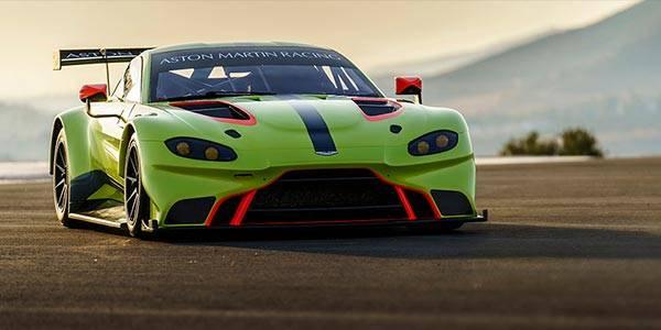 2018 Aston Martin Vantage GTE revealed