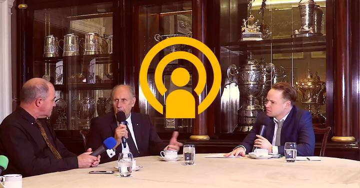 Hans-Joachim Stuck: Royal Automobile Club talk show