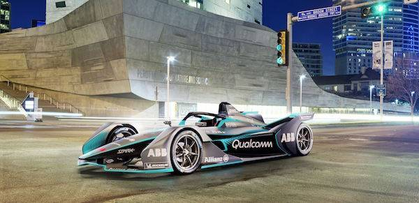 Dramatic new Gen 2 Formula E car revealed