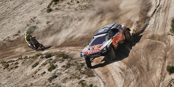 Sainz threatened with legal action after Dakar run-in