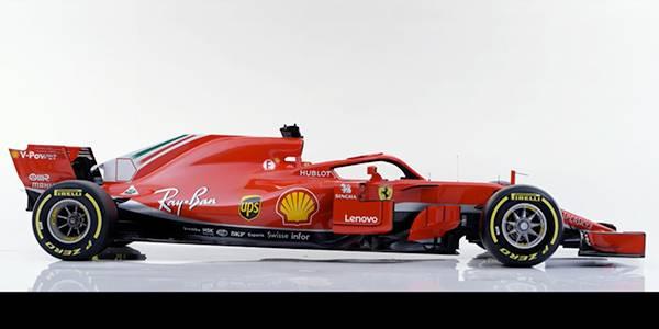Ferrari 2018 F1 car unveiled