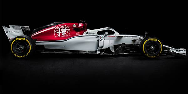 Alfa Romeo Sauber launches 2018 C37