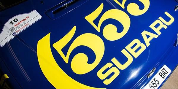 Ex-Vatanen Subaru goes up for auction