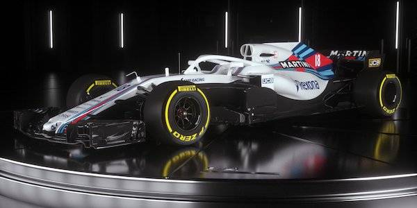 Williams unveils 2018 F1 car