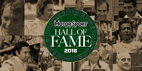 Sports cars – Hall of Fame 2018 nominees