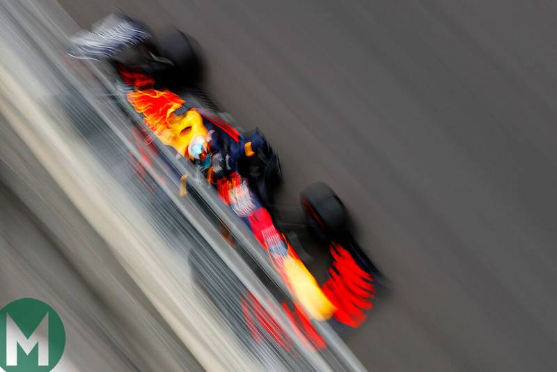 Ricciardo fastest in Azerbaijan F1 FP2
