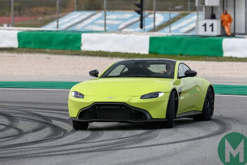 Aston Martin Vantage: 'a hardcore driving machine'