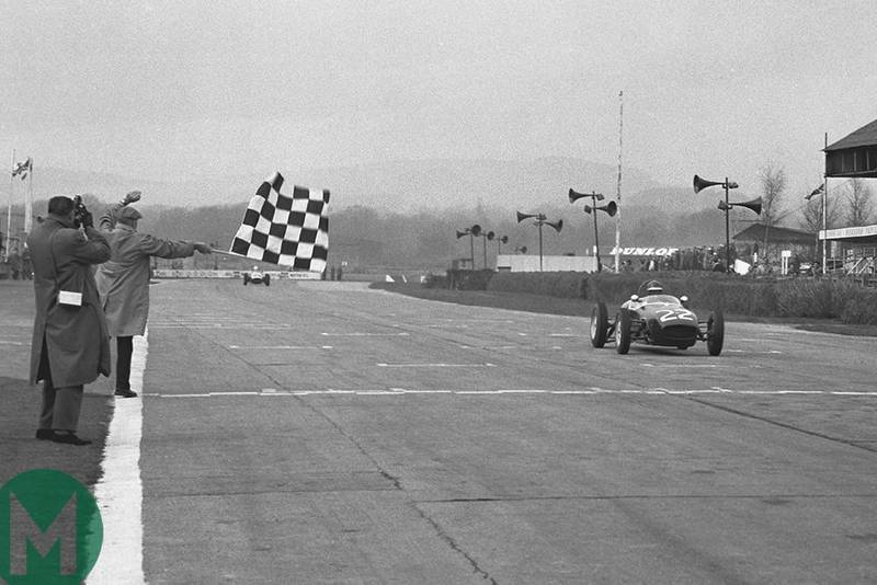 Jim beats John, Goodwood 1960