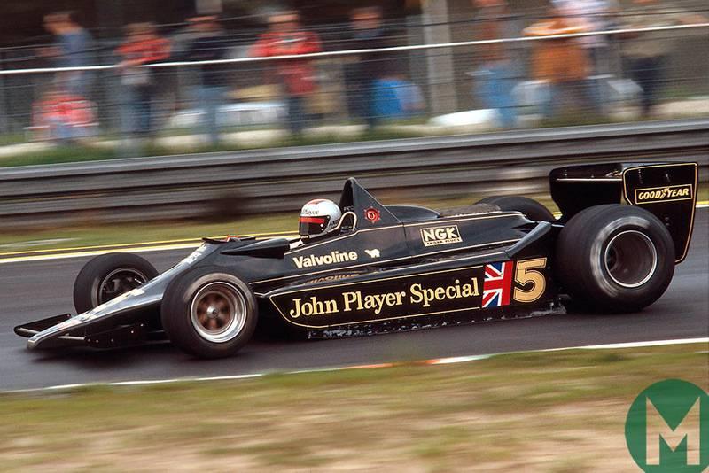 Black gold: the Lotus 79's debut