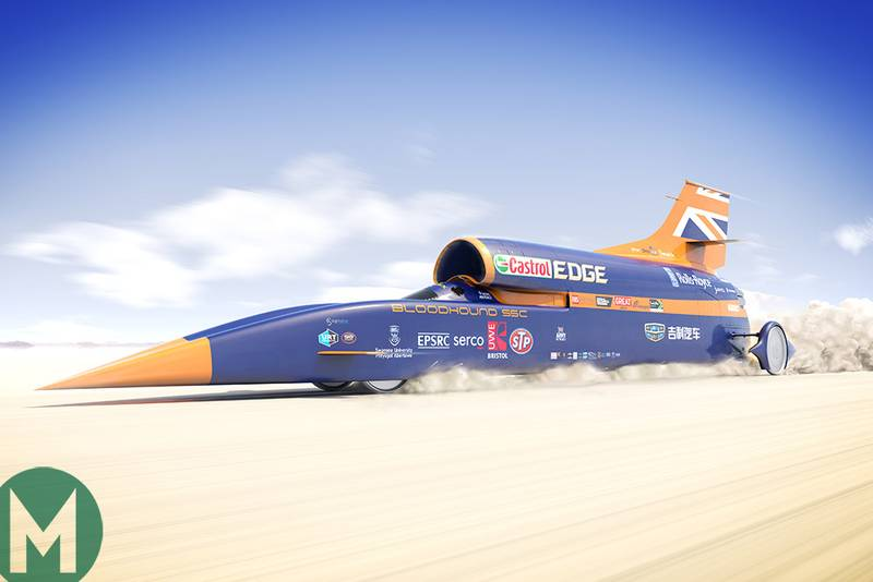 Bloodhound to attempt speed record in late 2019